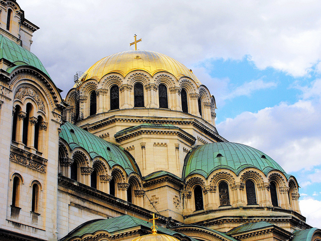 Sofia, Bulgaria - The St. Alexander Nevski Cathedral