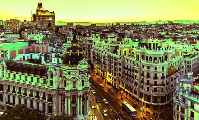 MADRID PUNTOS DE LUZ