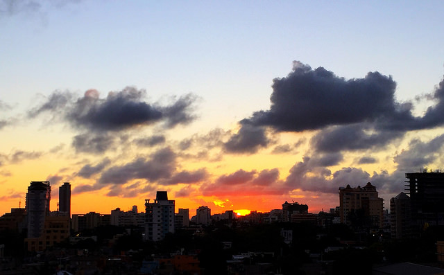 Atardecer en Santo Domingo