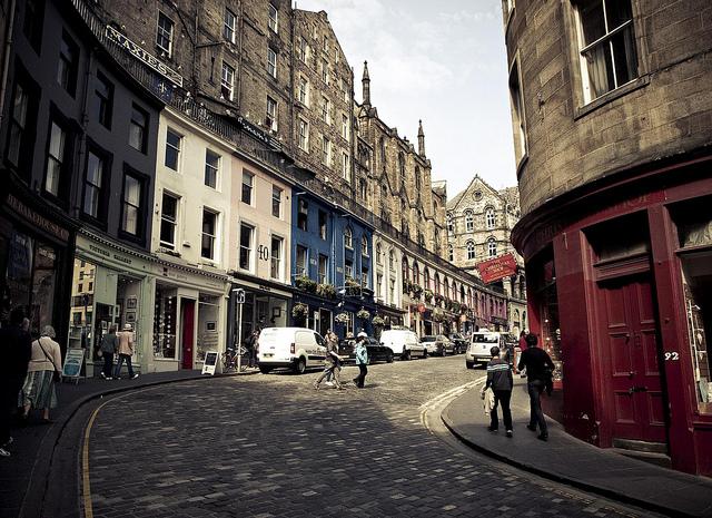 92 de Victoria Street, Edimburgo.