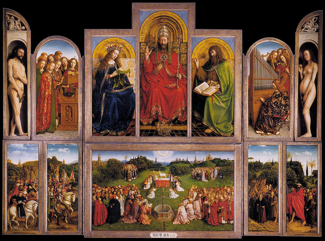 Van Eyck: Adoration of the Lamb