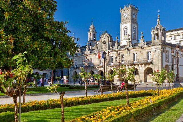 Ayuntamiento Lugo Galicia arousa Shutterstock