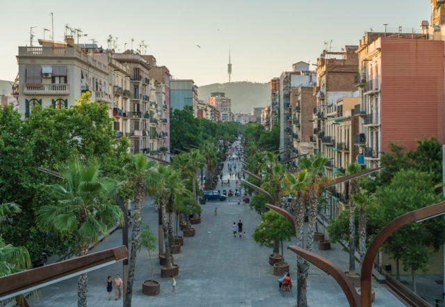 Barcelona Barrio Sants España Dani Keral Un Viaje Creativo