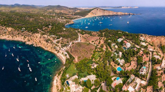 Cala Jondal Mejores Calas Ibiza Baleares