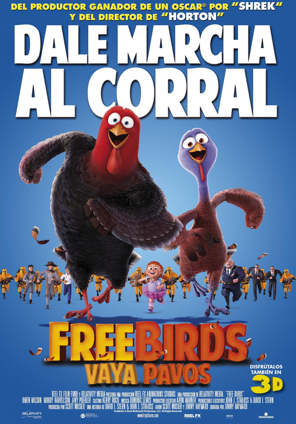 Free Birds, Vaya pavos