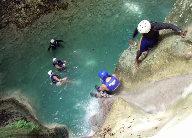 Cascadas-Trekking-Charcos-Damajagua-Republica-Dominicana-Caribe