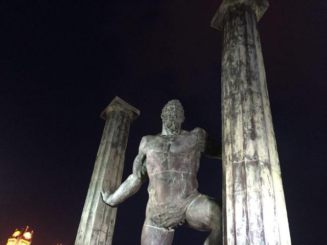 Estatua Columnas Hércules Ceuta España Javier Uceda Shutterstock