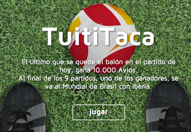#Tuititaca Iberia