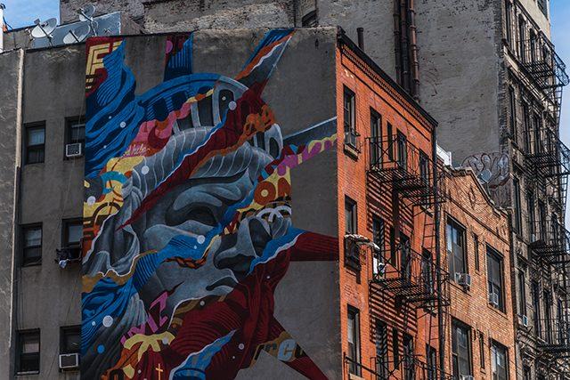 Grafitti Soho Nueva York Estados Unidos Algo Que recordar