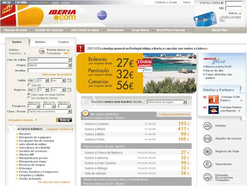 Consejos Para Buscar Vuelos Baratos En Iberiacom Me Gusta Volar