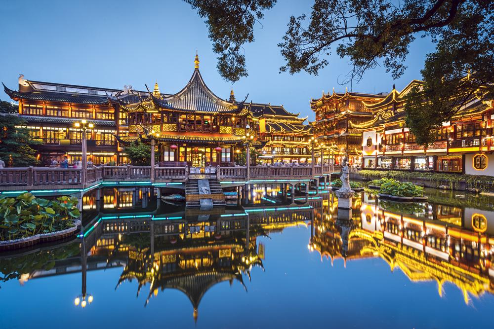 Antiguo y moderno shangh i me gusta volar for Le jardin yuyuan