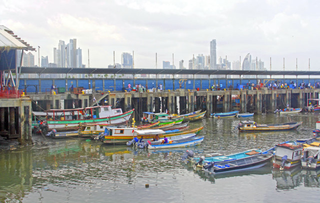 Puerto de la Ciudad de Panamá