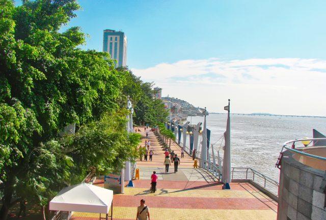 Malecon 2000 Guayaquil Ecuador Rio Guayas