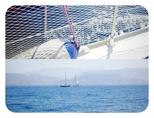Velero en islas griegas
