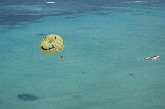 Paracaidas-Parapente-Vuelo-Republica-Dominicana-Caribe