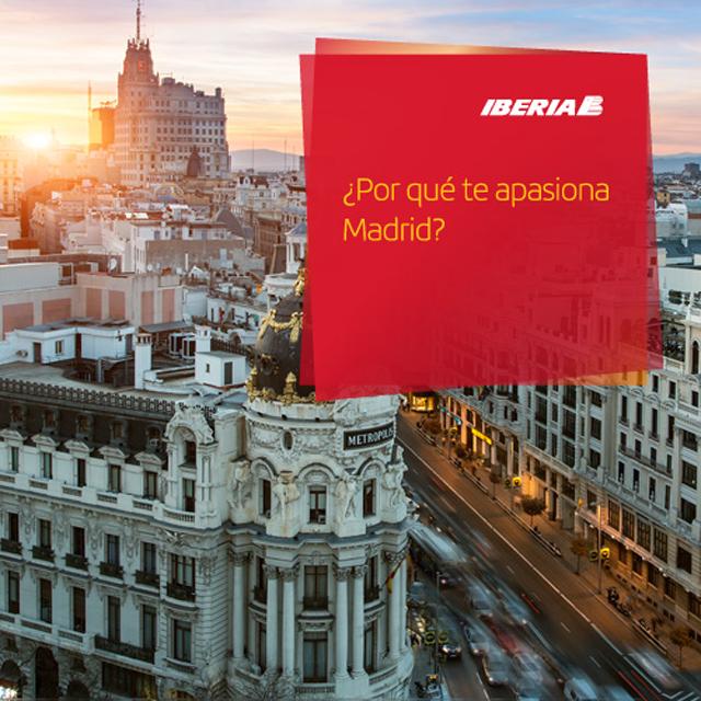 Pasión por Madrid