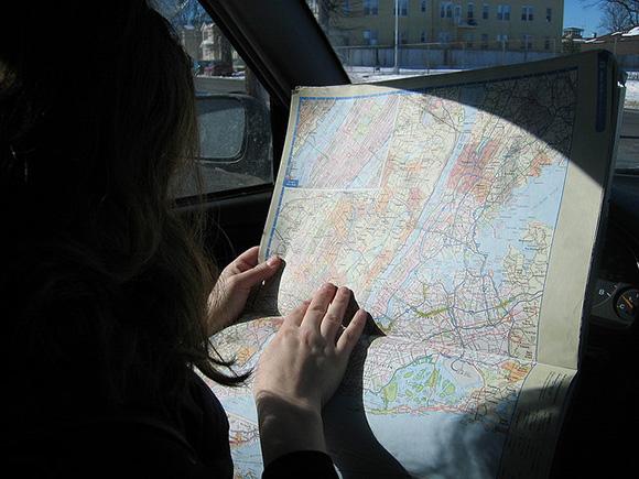 Perdidos con un mapa