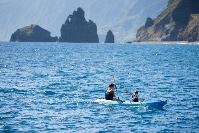 Canoa en Madeira