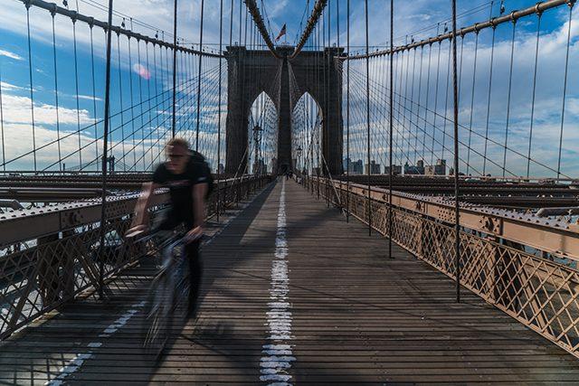 Puente Brooklyn Nueva York Estados Unidos Algo Que Recordar