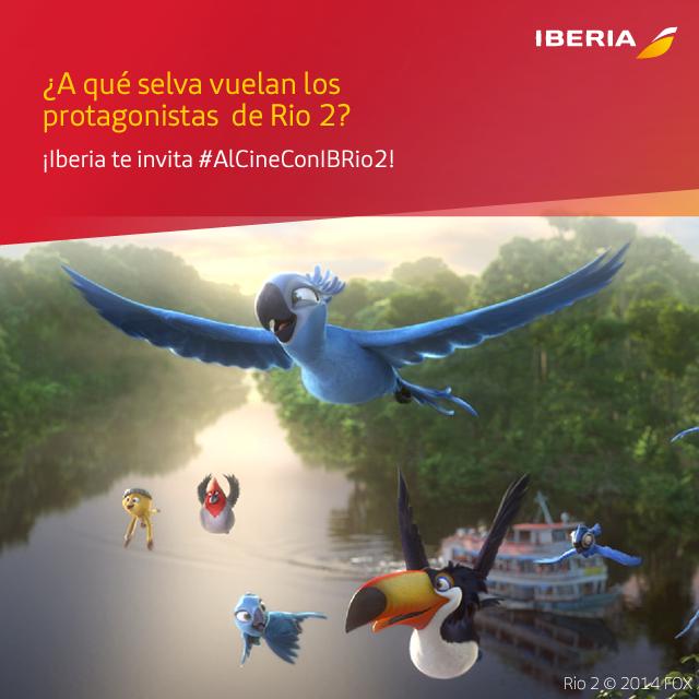 #AlCineConIBRio2