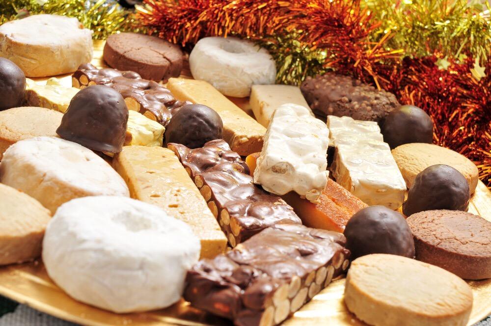 Turr n neulas paparajotes los mejores dulces navide os for Productos de navidad