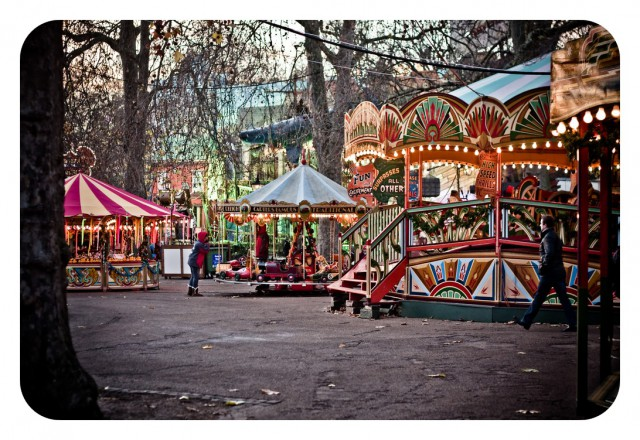 Winter Wonderland en Hyde Park
