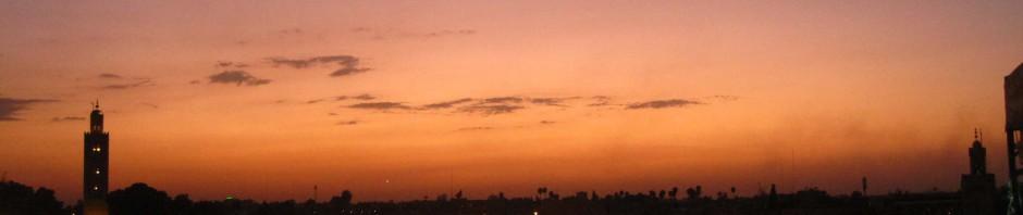 cielos de marrakech