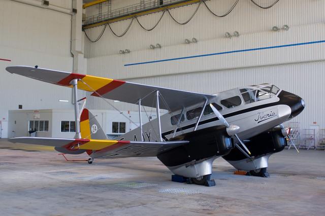 De Havilland DH-89 , Fotografia de jmiguel