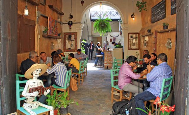 gastronomía en Puebla