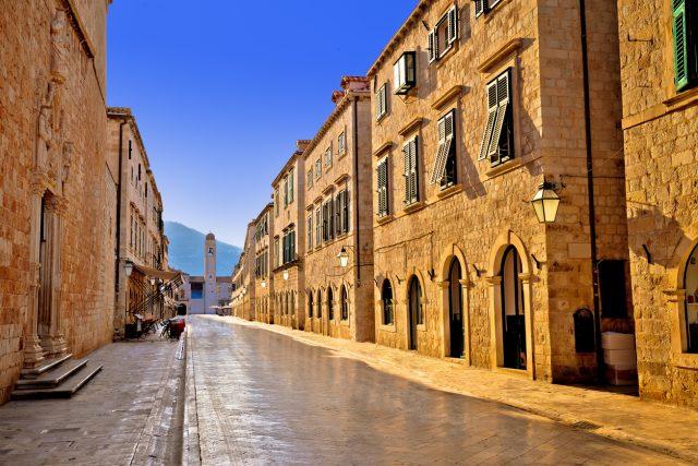 La calle Stradun, Dubrovnik
