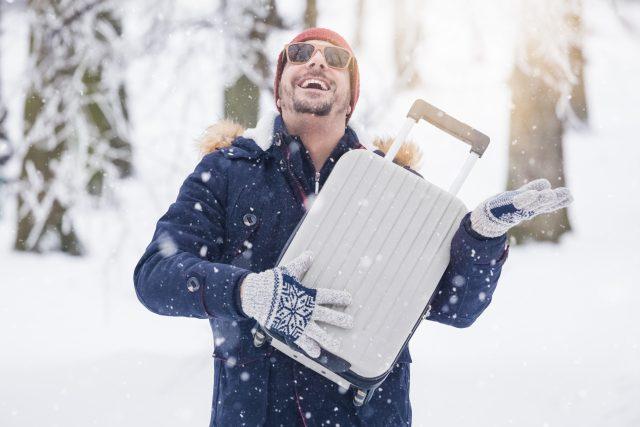 Maleta para la nieve