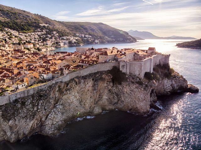 Dubrovnik ciudad medieval del Adriático