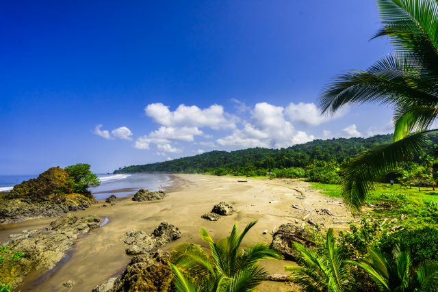 playa tropical Almejal, Colombia