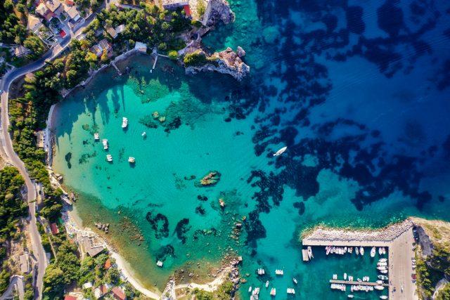 Corfú, joya de las islas Jónicas