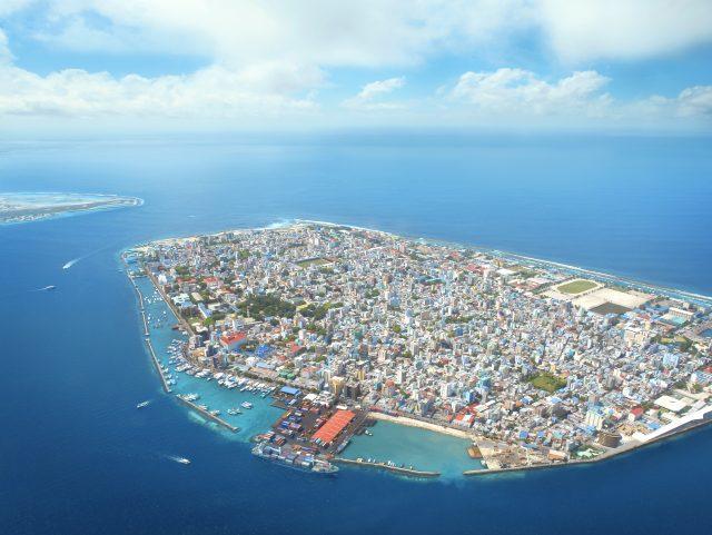 Malé, capital Maldivas