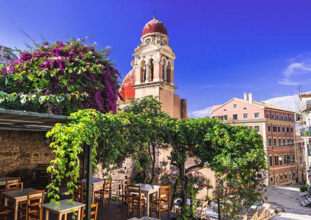 Restaurante Corfú centro histórico