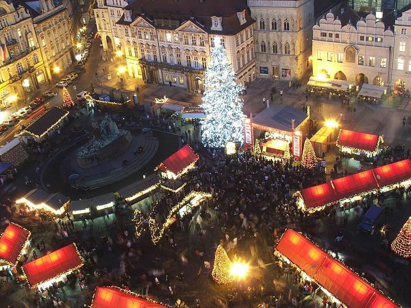 L2F Nov 13 pic Czech Prague Christmas market Wikipedia Hynek Moravec