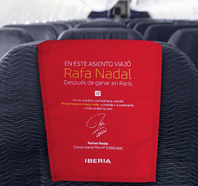 L2F pic Iberian Nadal seat