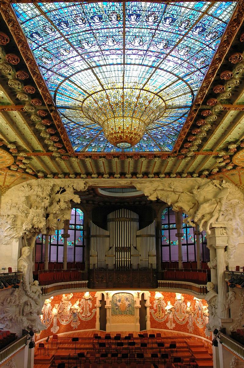 Palau de la Música Catalana Barcelona CC by Josep Renalias w=800