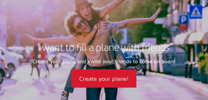 The Friends Plane Iberia Travel Contest 11-2013