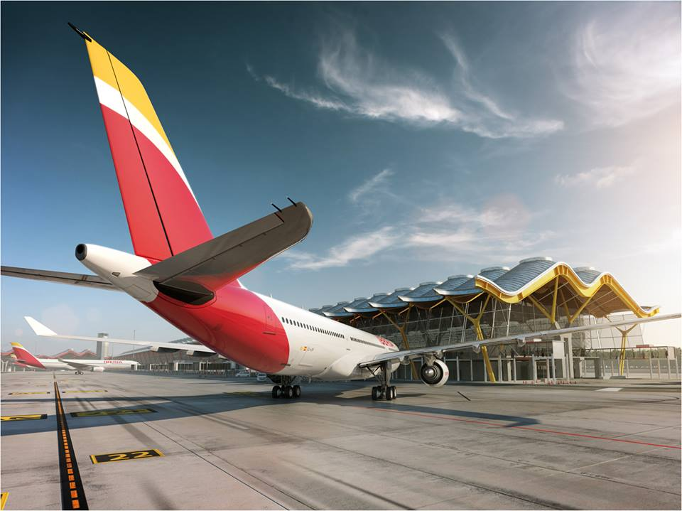 L2F Dec 13 pic Iberia rebrand 5 plane at gate