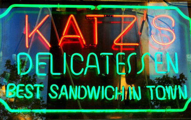 Katz's Deli by Paul Lowry on Flickr
