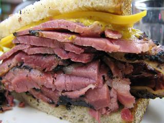 Pastrami Sandwich at Katz's Deli by Al Scandar Solstag on Flickr
