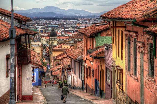 Bogota La Candelaria image by Szeke