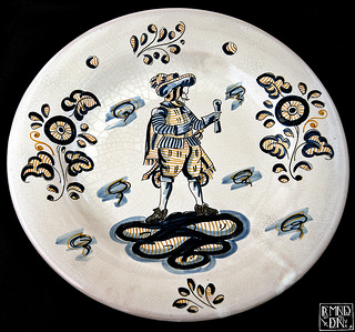 ceramic plate from Talavera de la Reina Spain Flickr  fma_boal