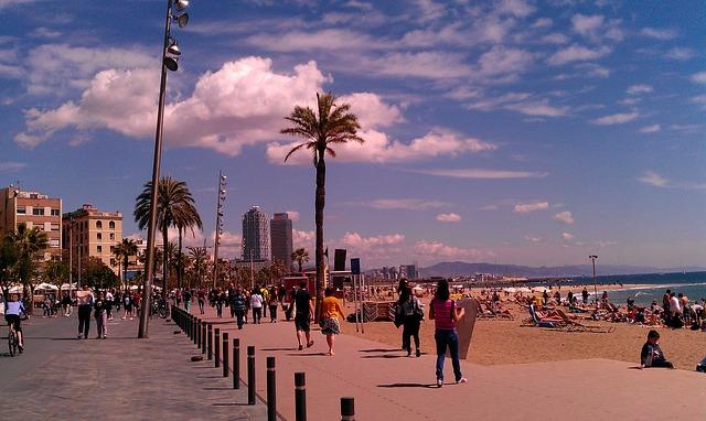 L2F July Spain Barcelona Barceloneta Pixabay