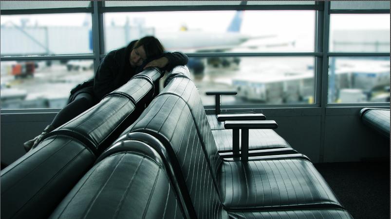 L2F Oct 14 pic consumer jet lag sleeping in airport Pratibha Varshney