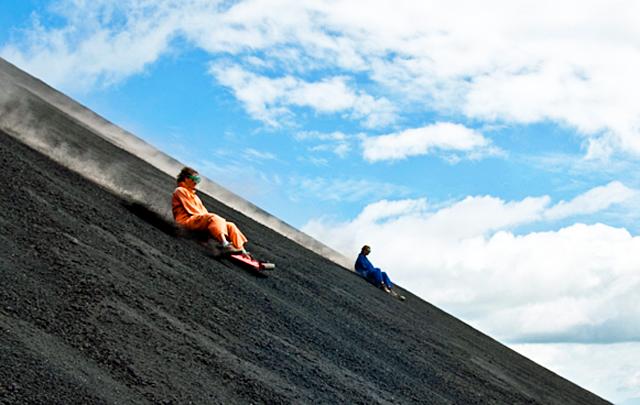 L2F Nov 14 Nicaragua volcanoes Cerro Negro surfing Green Pathways