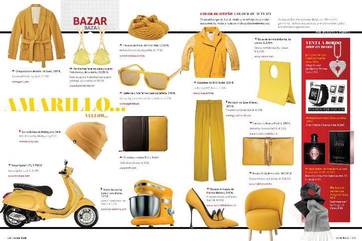 L2F Nov 14 pic Ronda Bazaar fashion yellow