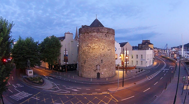 Ireland Waterford Reginald's Tower The Quay Vadrefjord Wikipedia